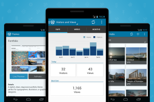 Мобильное приложение WordPress